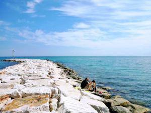 Passeggiata al mare